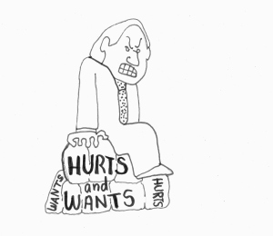Hurts and wants