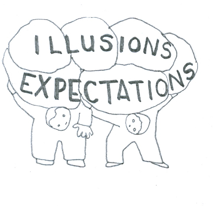 expectation & illusions in relationships