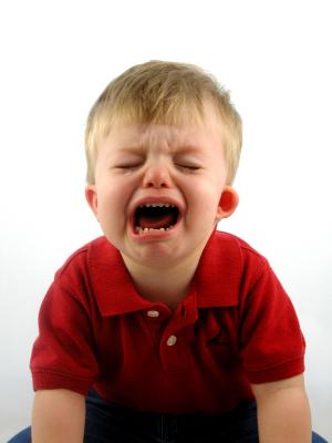Manipulation through tears, hurt as demand