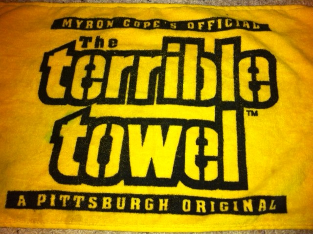 Steelers Terrible Towel, Superbowl loss, Anxiety, Uncertainty
