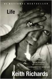 Grateful to Keith & his biography, Music & Keith Richards, genius recommendations, music as an anchor in life,passion & music, staying current with music, Life by Keith Richards